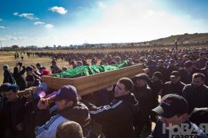 Reshat Ametov Funeral