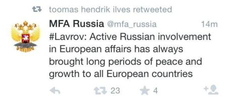 Russia-Peace-in-Europe-Tweet