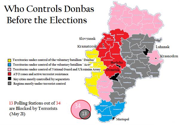 Donbas-map