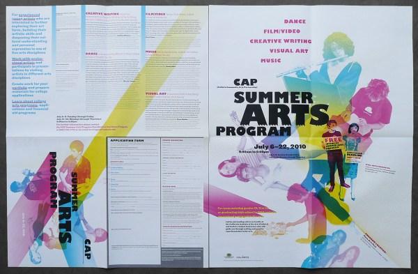 Cap Summer Arts Program Poster 2010 Roman Jaster