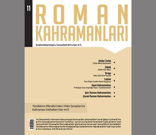 Roman Kahramanları 11. Sayı