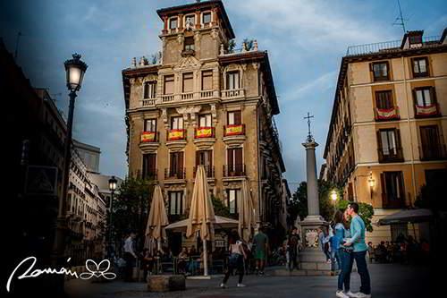 Plazuela de Santiago, fotógrafos de bodas en España
