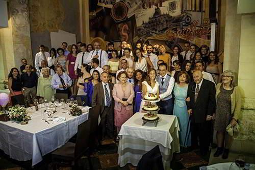 fotógrafos para bodas en segovia, Celebración de boda