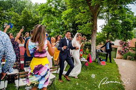 Fotógrafo de bodas naturales
