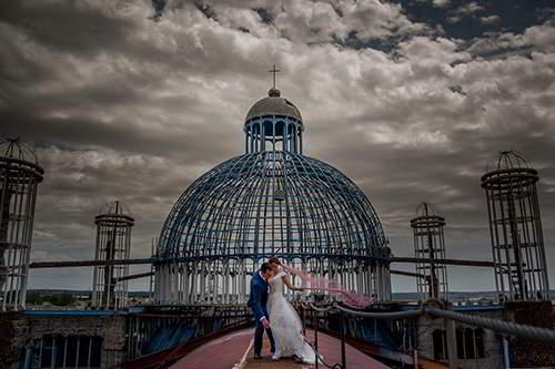 fotógrafo de bodas en la Catedral de Justo