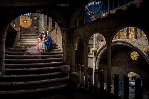 fotógrafo de bodas en Madrid-Reportaje de novios de Román Larrodé