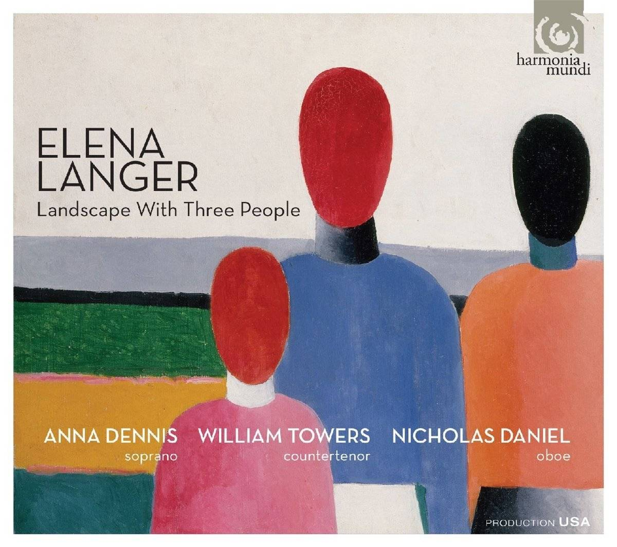 Elena Langer: Landscape With Three People