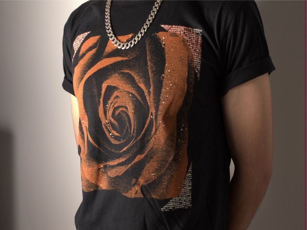 12914fd3030 GOLDEN ROSE T SHIRT