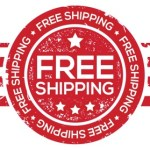 We have free shipping