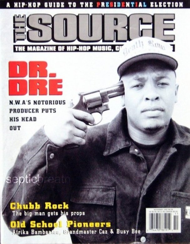 The-Source-Magazine-November-1992 DR DRE