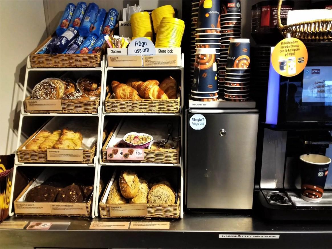 Pressbyran pastry, Stockholm on a budget