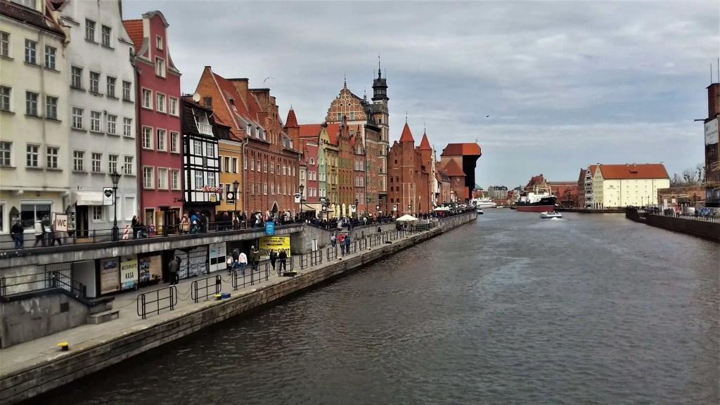 Gdansk embnkment