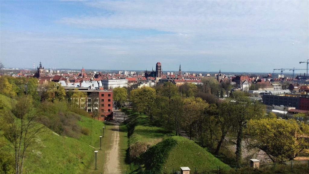 Gradova hill and panorama of Gdansk in 1 day