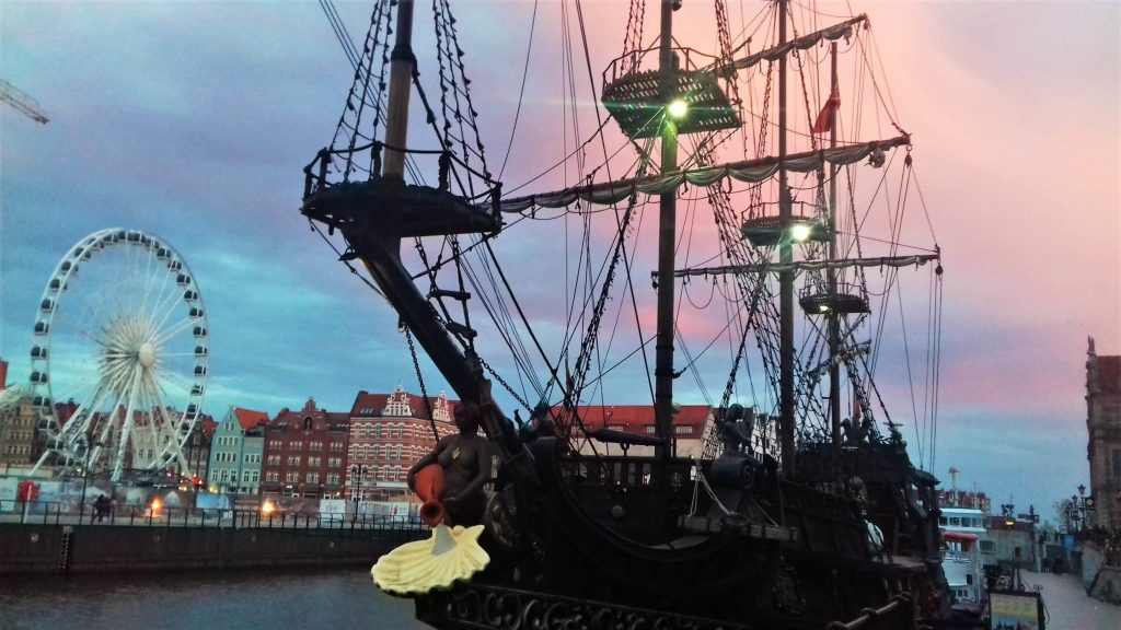 Pirate ship, 1 day in Gdansk