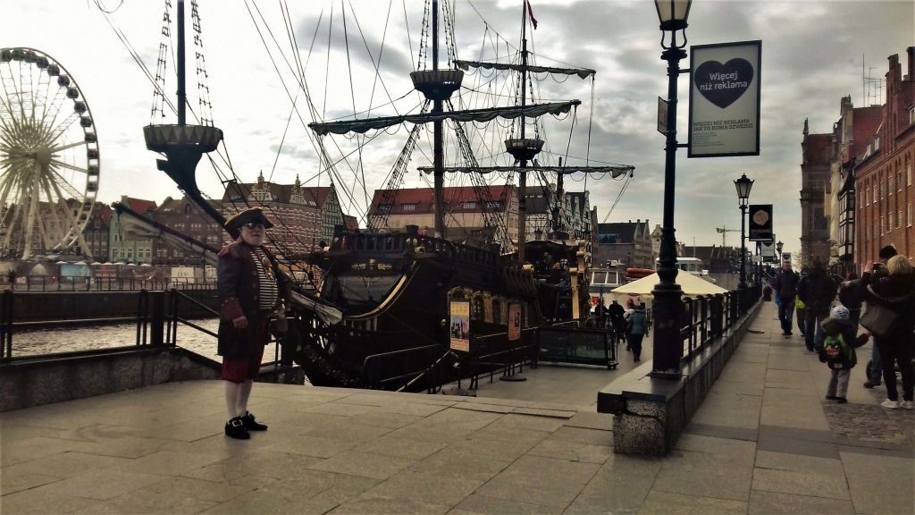 Pirate and pirate ship, Gdansk in 1 day