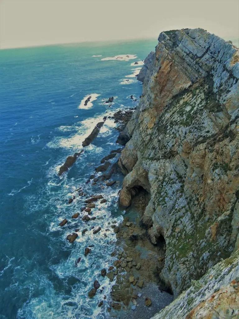 Asturias sea shore, Spain