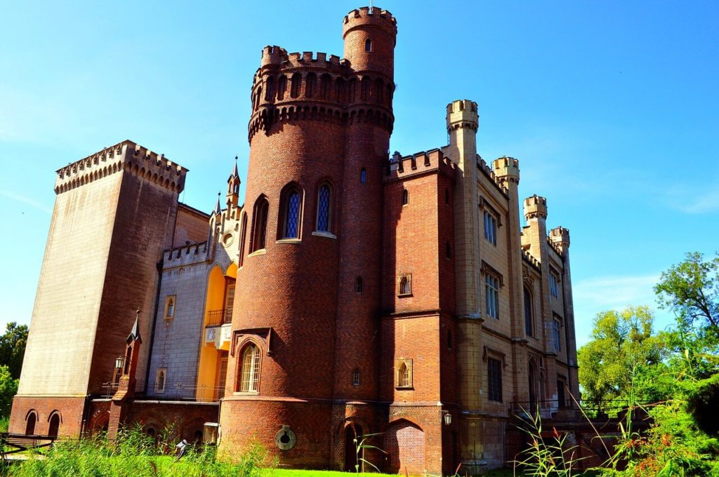 Castle in Kornik near Poznan