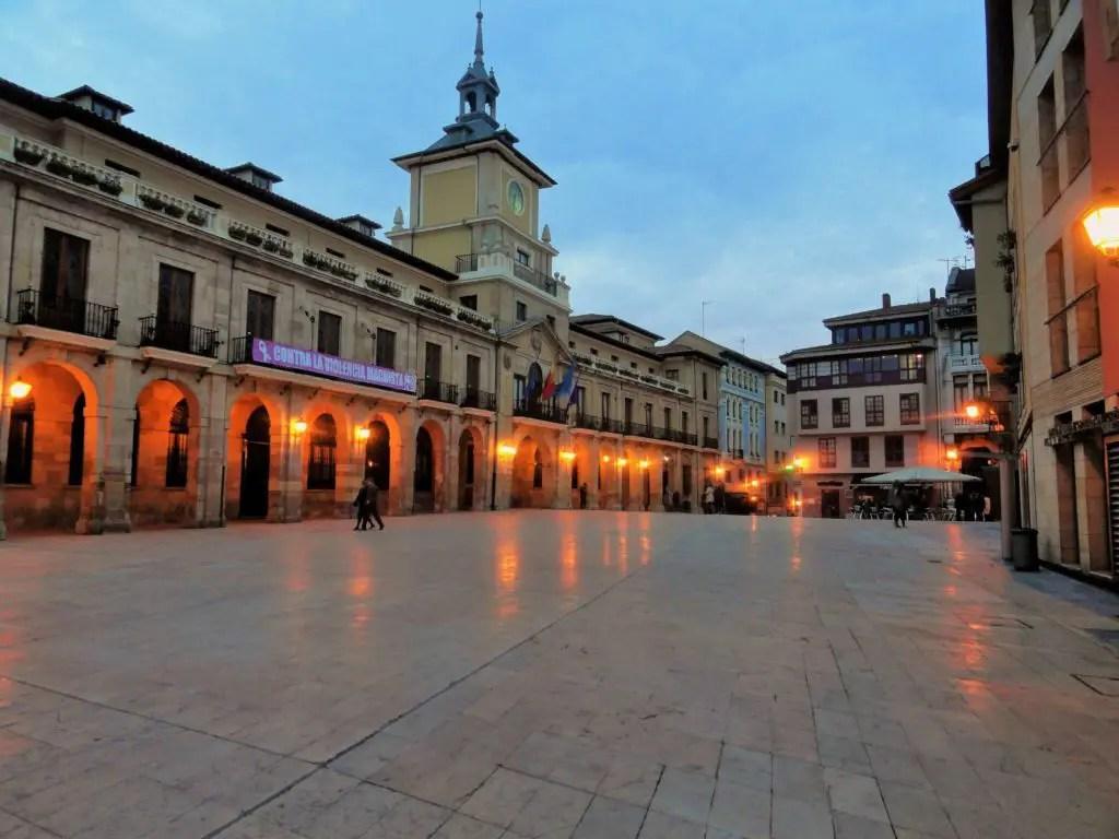 Главная площадь Овьедо, Астурия