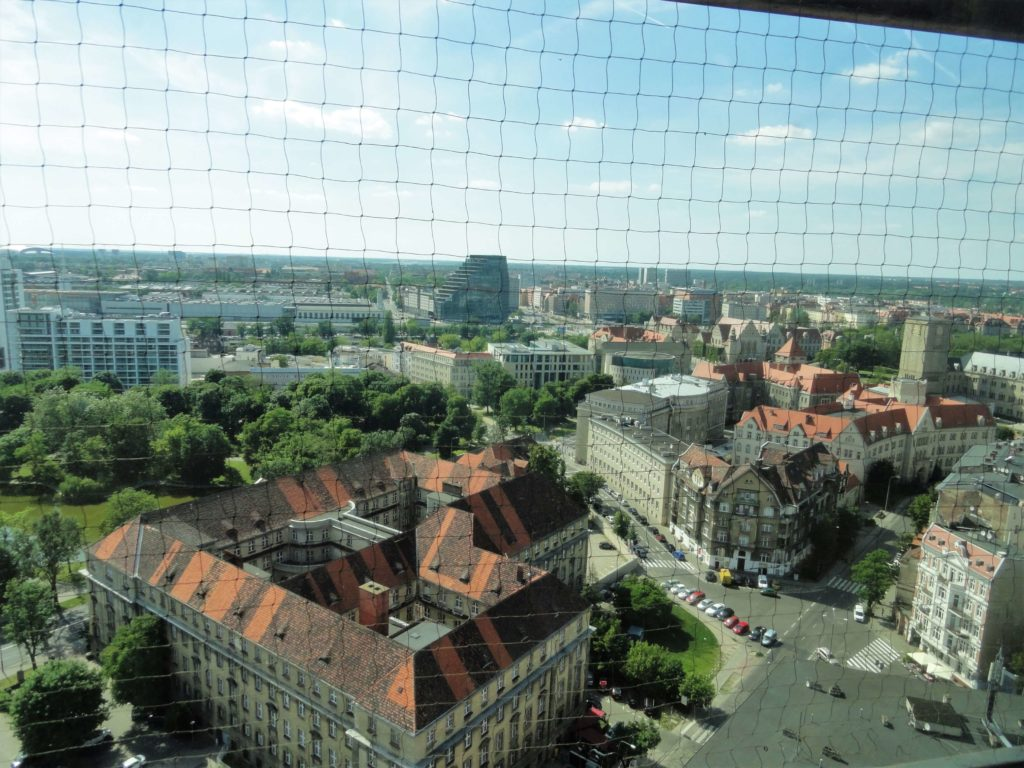 Panoramic view of Poznan