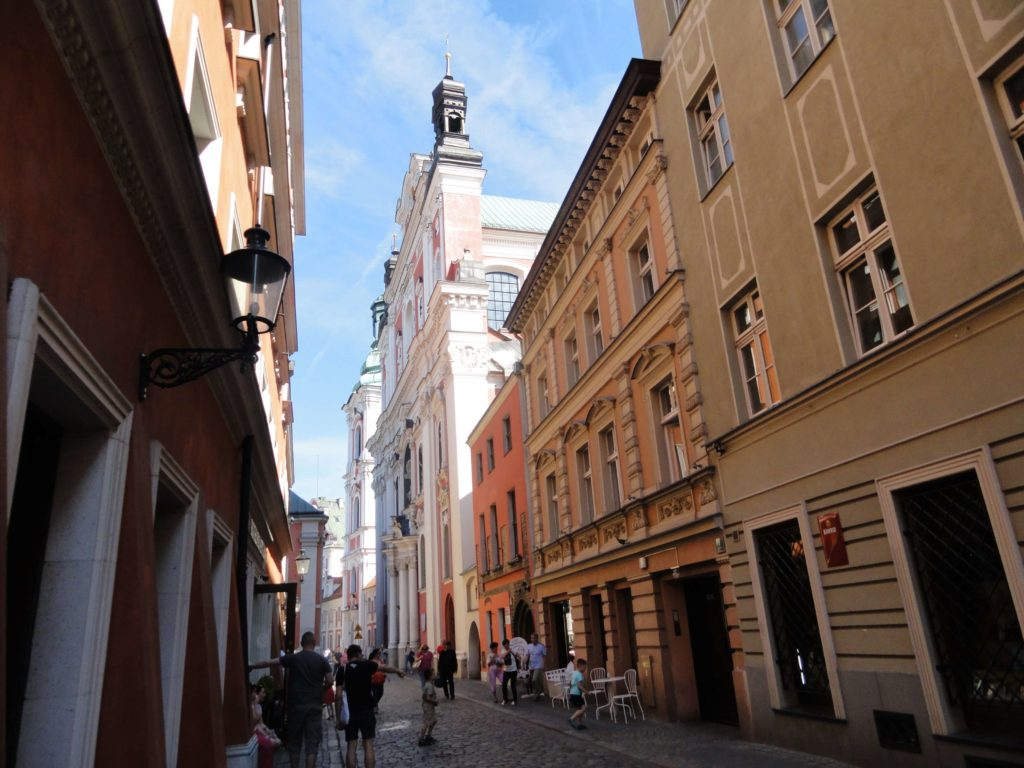 Poznan Streets in the city center