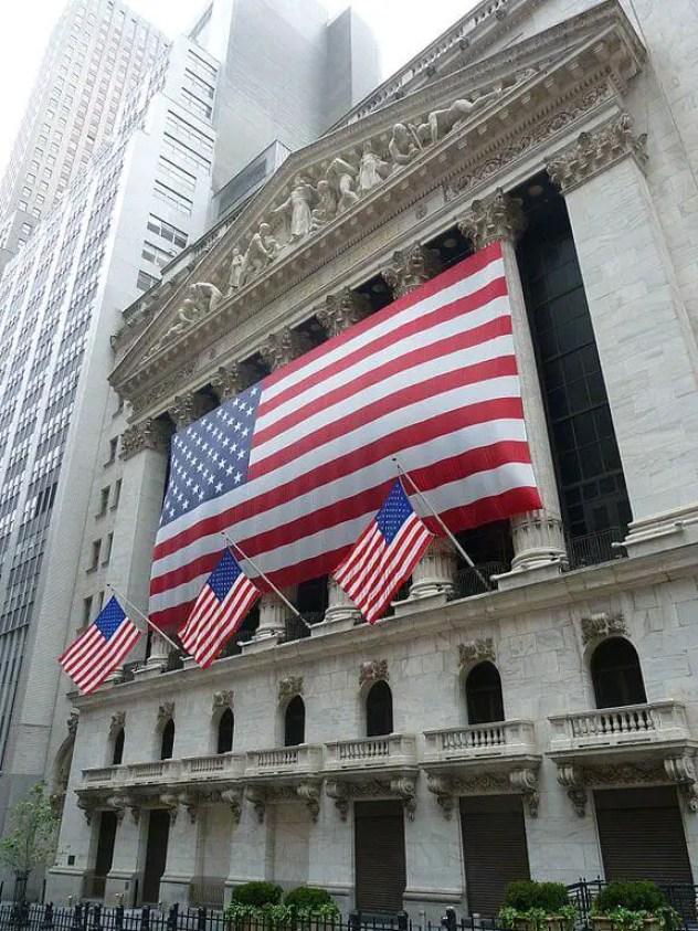 Уолл стрит и Нью-Йоркская фондовая биржа