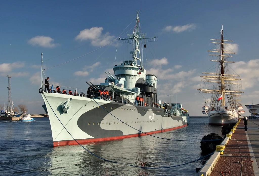 ORP Blyskawica ship museum