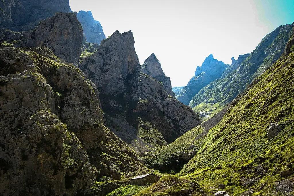 Горы пикос де Эуропа, Астурия