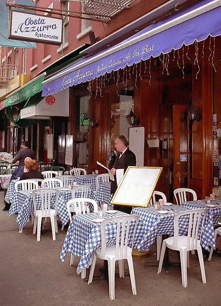 Ресторан в Маленькой Италии, Манхэттен