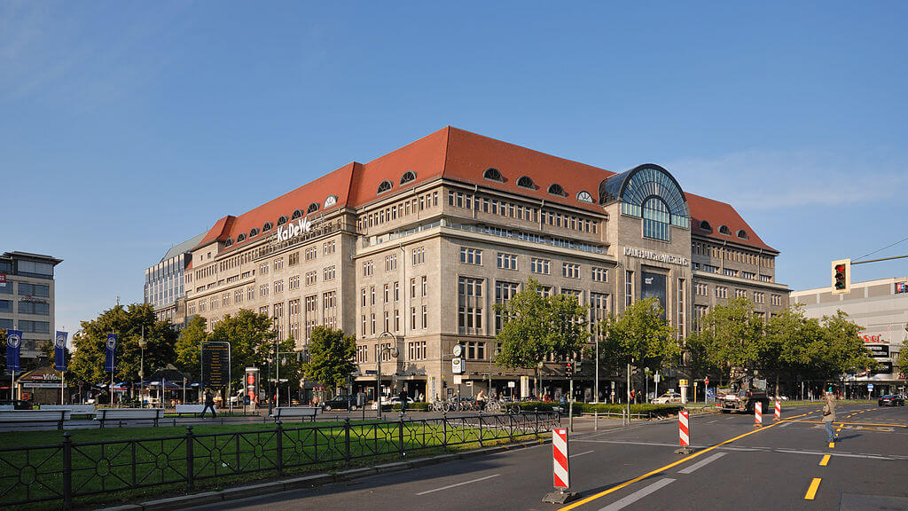 KaDeWe department store Berlin