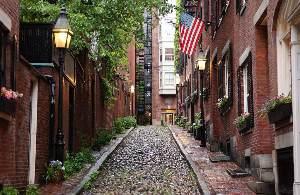 Beacon hill, top 10 free things to do in Boston