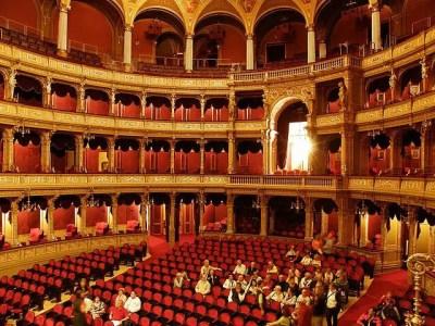 Budapest Opera nice interior
