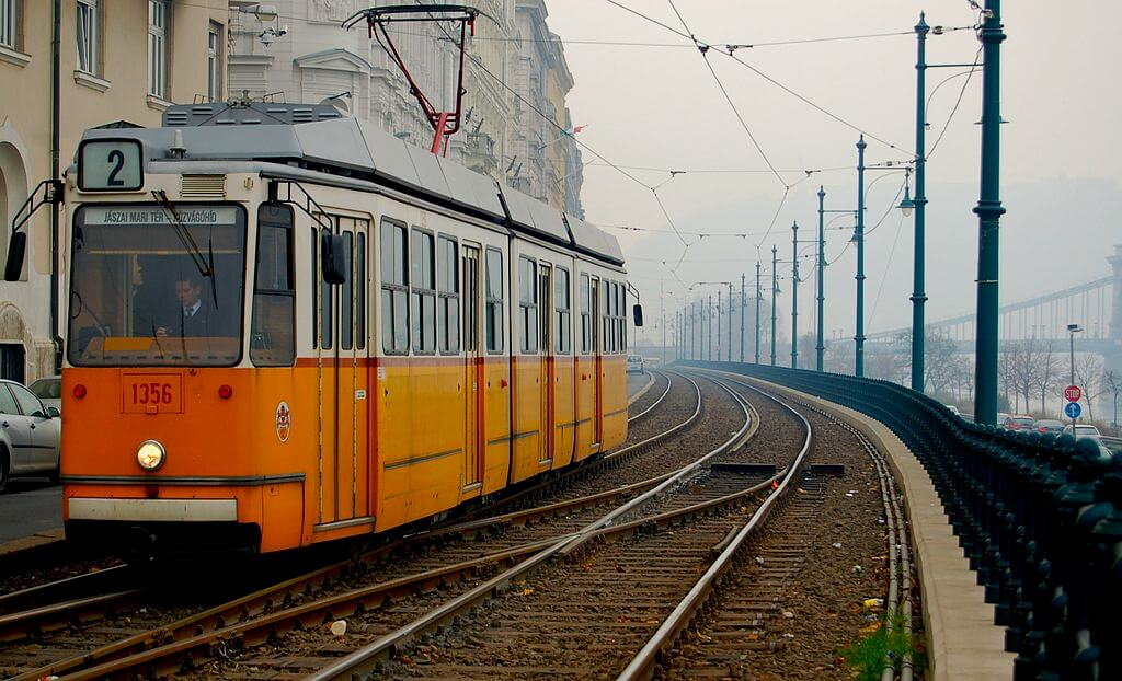 Yellow Tram in Budapest, things to do in 2 days