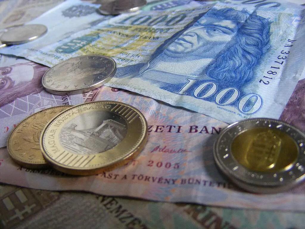 Венгерские форинты, монеты, деньги