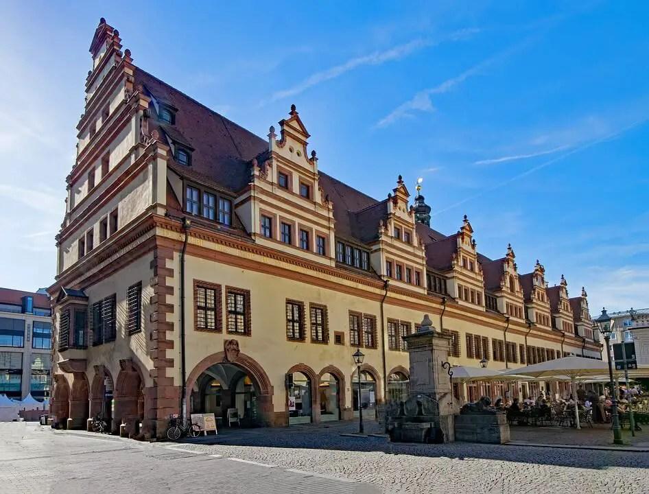 Достопримечательности Лейпцига, старая ратуша