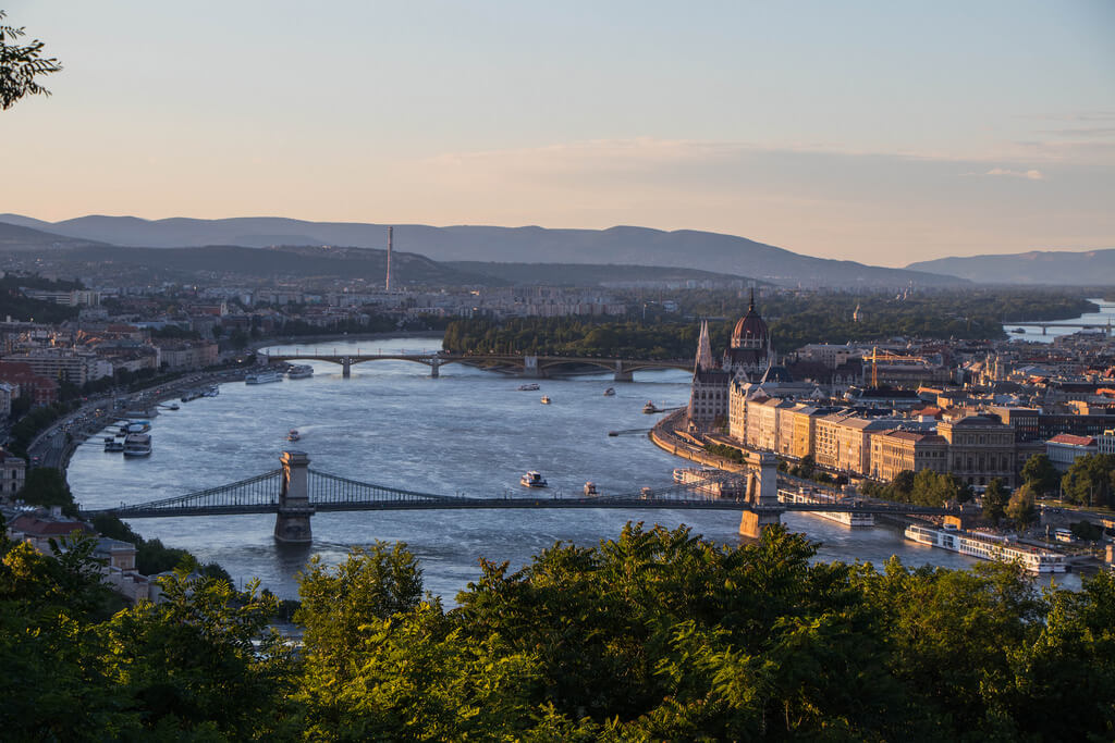 2-day Budapest itinerary, view from the hill