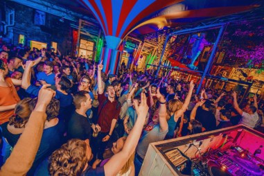 Instant club party in Budapest