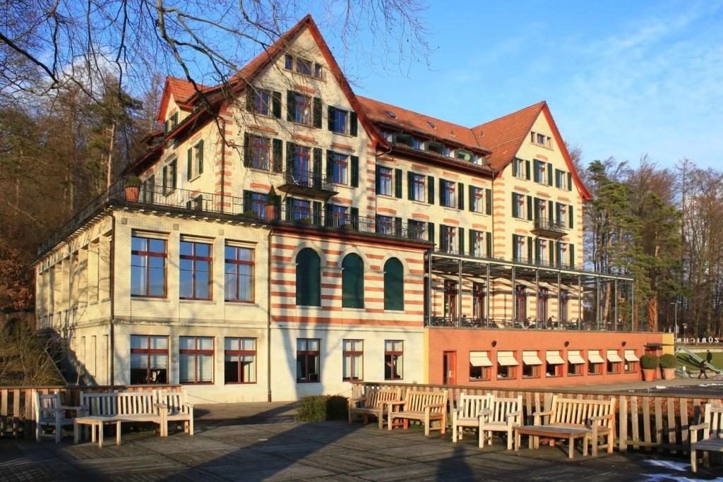 Отель Цюрихберг в Цюрихе, дешевое жилье