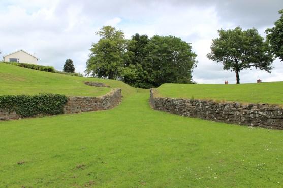 Carmarthen amphitheatre east entrance