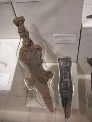 Caerleon museum - pugio dagger