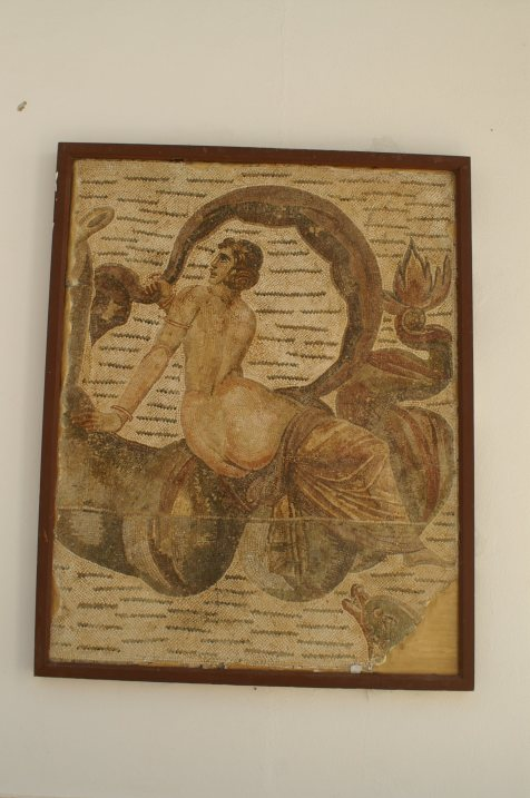 Mosaic in Carthage museum