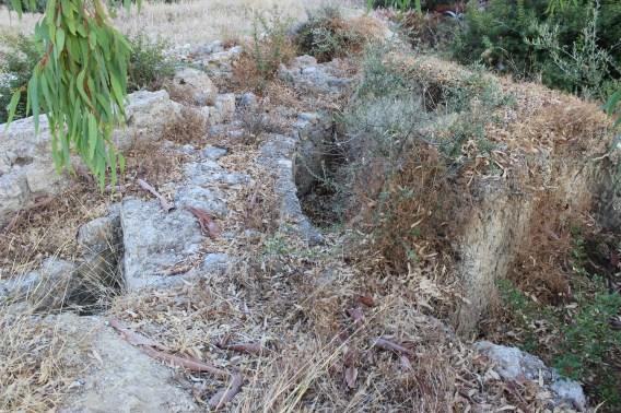 Hersonissos Filonidou Zotou street ruins