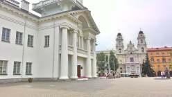 Ратуша и Кафедральный католический собор Девы Марии