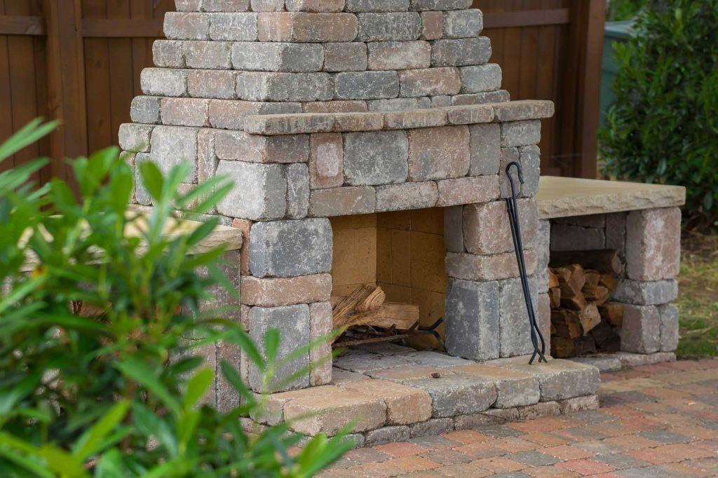 Wood Boxes Kit shown with Fremont Fireplace (sold separately).