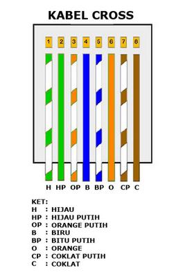 Urutan Warna Kabel Lan : urutan, warna, kabel, Www.erbacomputindo.blogspot.com: