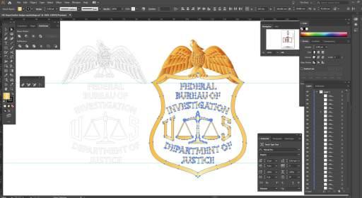 FBI badge design