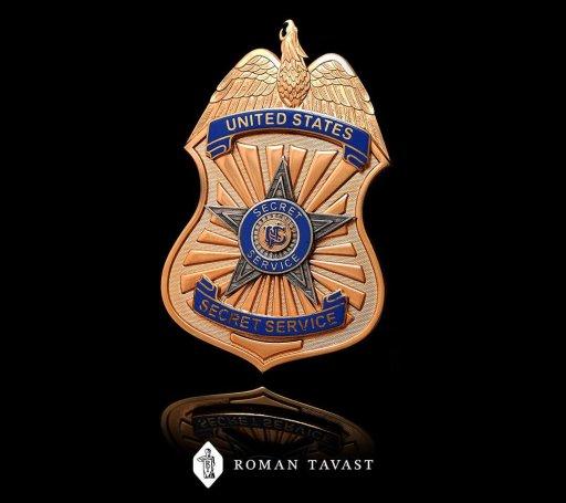 US Secret Service badge