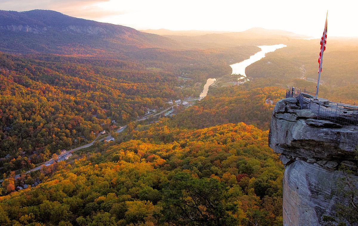 Fall Foliage Wallpaper Screensavers Fall Color Update Chimney Rock Amp Lake Lure Is Top Pick