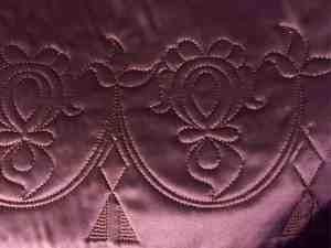 18th c. quilted petticoat
