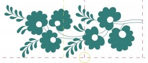 Matching embroidery borders - slightly nested design