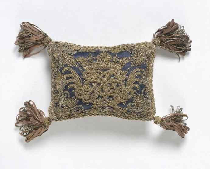 Monogrammed pin cushion